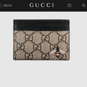 Authentic Gucci cardholder